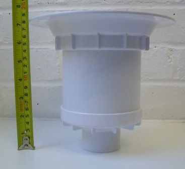 McAlpine Gully Trap for use with Sheet Flooring  40005016  Plumbers Mate Ltd